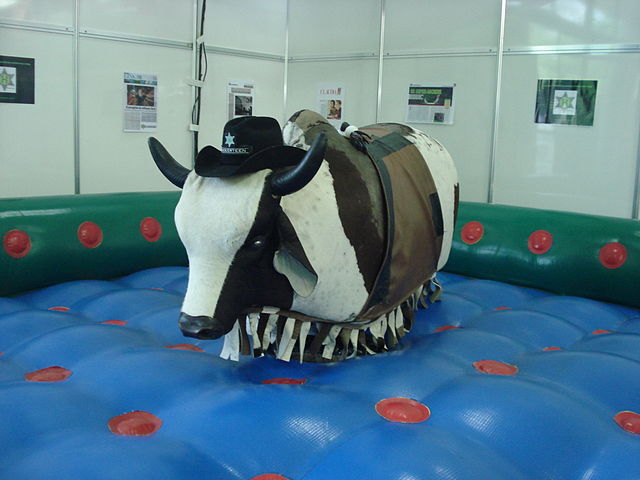 Rodeo Bull rides
