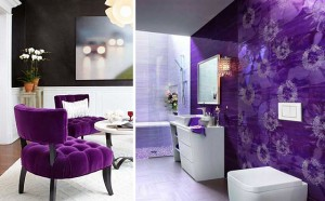 Decorate with purple