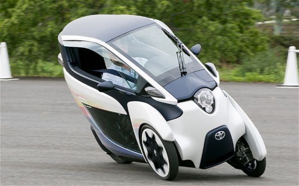 Toyota i-Road as an example of sustainable mobility