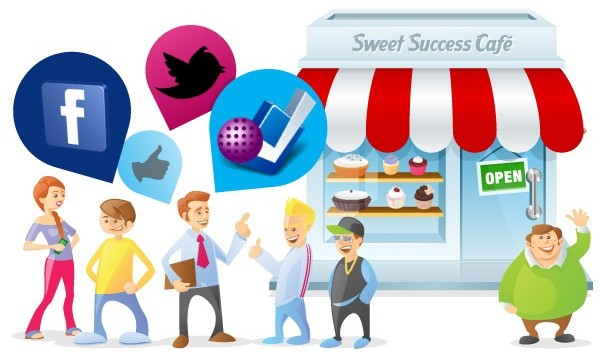 Social media for small or large companies