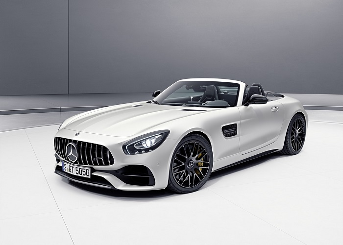 Mercedes-AMG celebrates its 50th anniversary with special editions of the GT and the C-Class