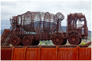 3 of the most famous metal sculptures