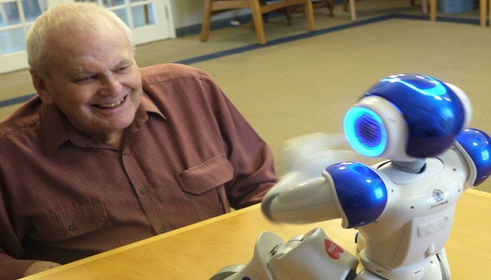 Robot Helps Comfort Dementia and Alzheimer's Sufferers