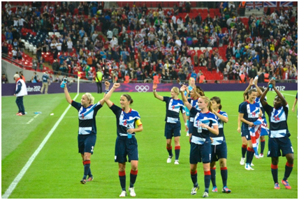 Women's Football Enjoys Mainstream TV Success
