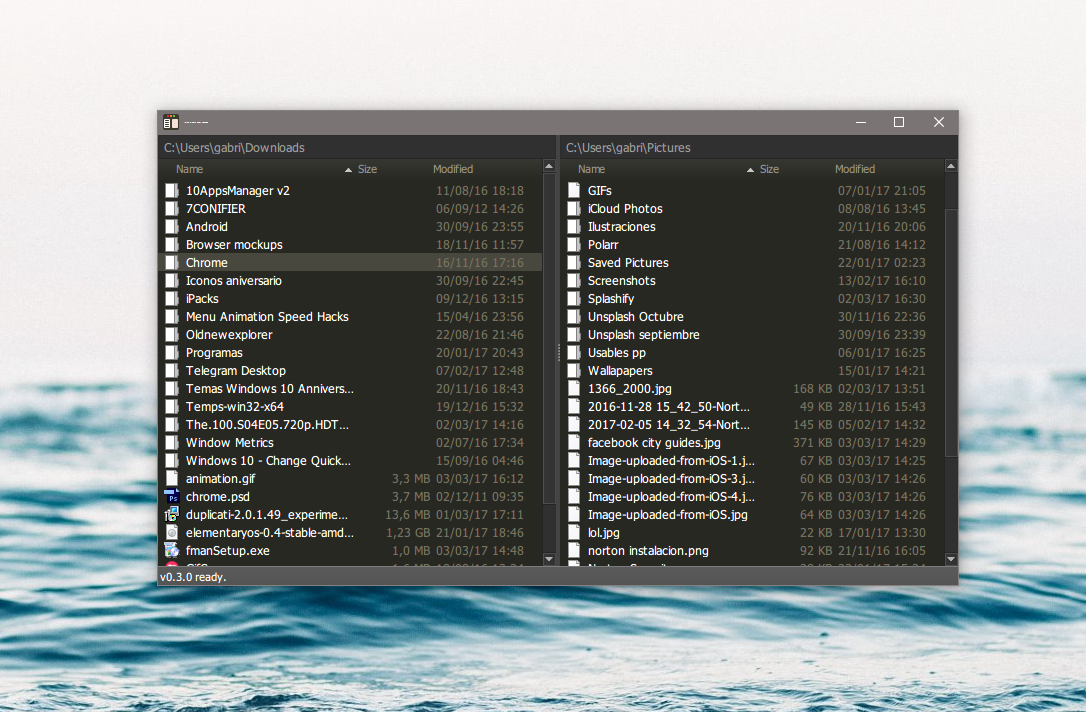Fman is an extensible and cross-platform file explorer, ideal for power users