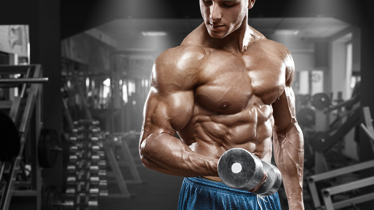 The importance of training to gain muscle mass